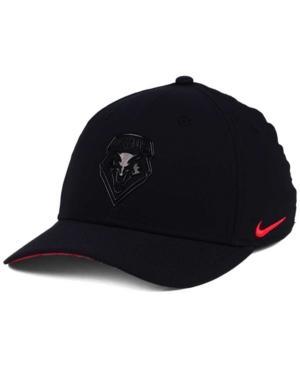 Nike New Mexico Lobos Col Cap In Black