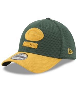 New Era Green Bay Packers Logo Surge 39Thirty Cap In Green/Yellow