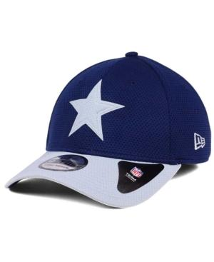 New Era Dallas Cowboys Logo Surge 39Thirty Cap In Navy/Gray