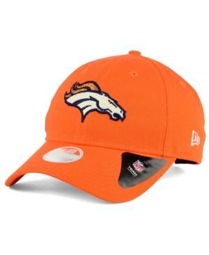 New Era Denver Broncos Team Glisten 9Twenty Cap In Orange