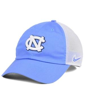 Nike North Carolina Tar Heels H86 Trucker Cap In Lightblue/White