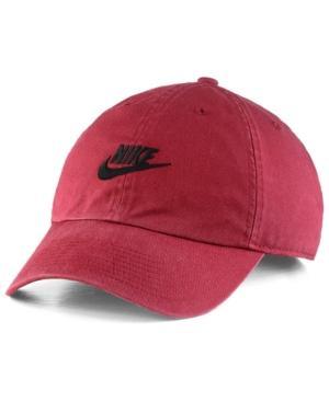 Nike Futura Heritage 2.0 Cap In Maroon/Black