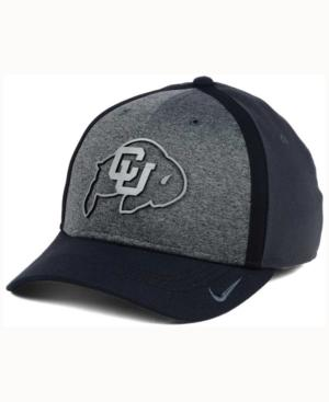 Nike Colorado Buffaloes Heather Stretch Fit Cap In Anthracite/Reflective Silver