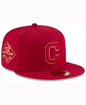 New Era Cincinnati Reds Team On Metallic 59Fifty Cap