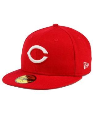 New Era Cincinnati Reds C-Dub Patch 59Fifty Fitted Cap