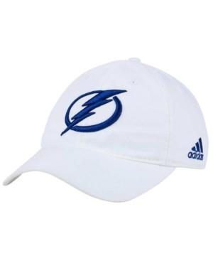 Adidas Originals Adidas Tampa Bay Lightning Core Slouch Cap In White