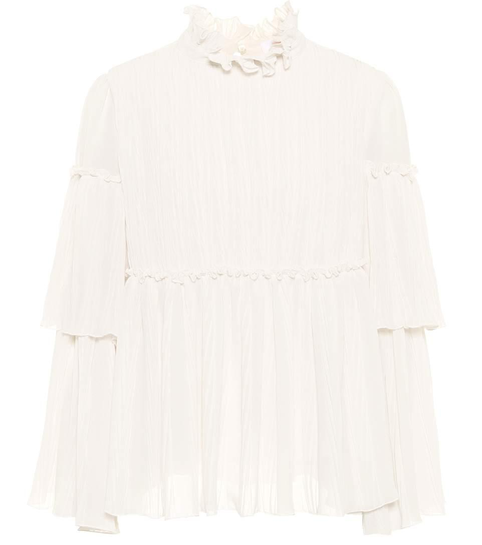 See By ChloÉ Ruffled Blouse In White