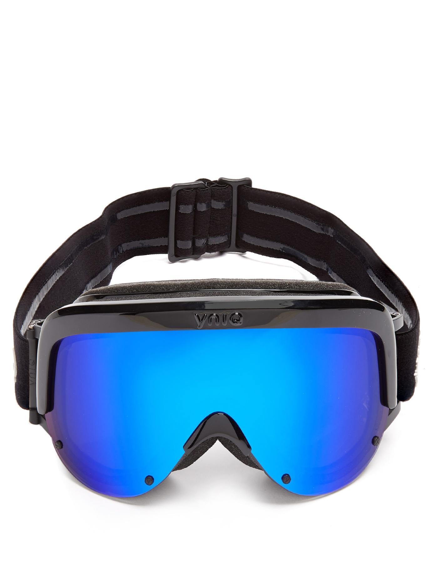 Yniq Model One Extended-Vision Ski Goggles In Black Multi
