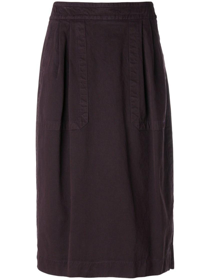 Dries Van Noten Fitted Midi Skirt
