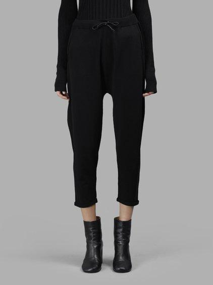 Isabel Benenato Women's Black Knitted Trousers
