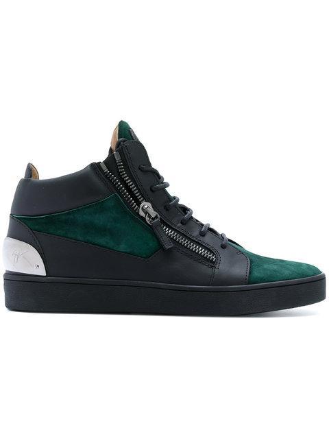 Giuseppe Zanotti Keith Hi-Top Sneakers