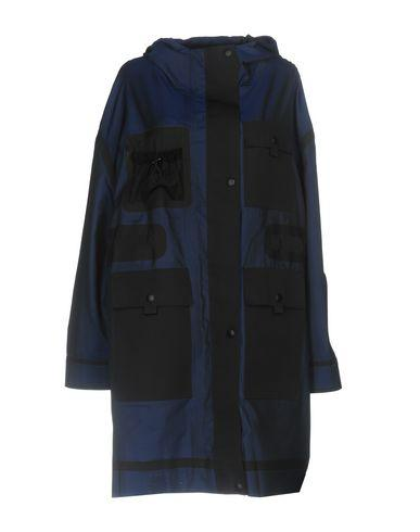 Alexander Wang Full-Length Jacket In Dark Blue