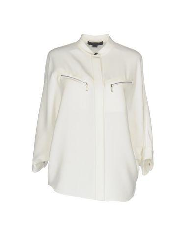 Alexander Wang Solid Color Shirts & Blouses In Ivory
