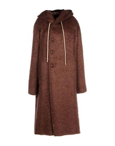 Rick Owens Coats In Cocoa