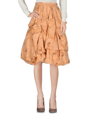 Bottega Veneta Knee Length Skirts In Sand