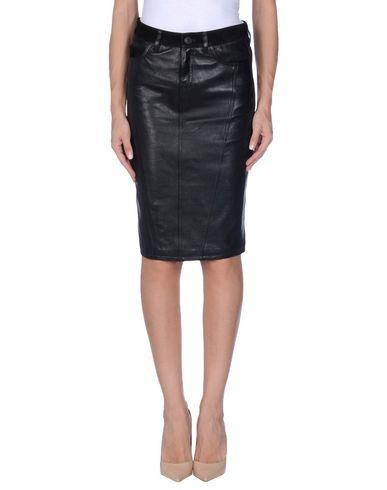 Burberry Knee Length Skirts In Black