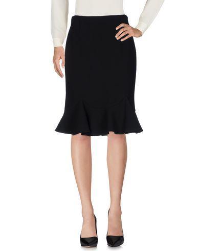 Prada Knee Length Skirts In Black