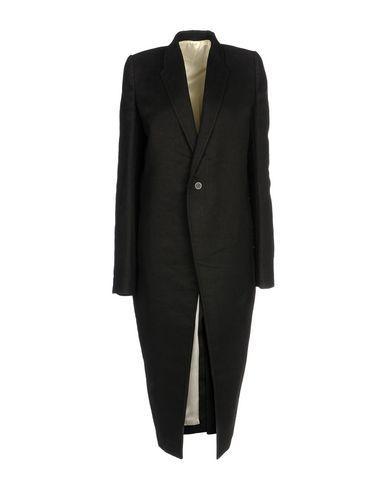 Rick Owens Coats In Black