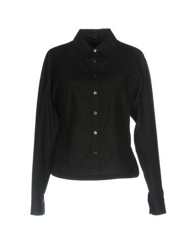 Alexander Wang Solid Color Shirts & Blouses In Black