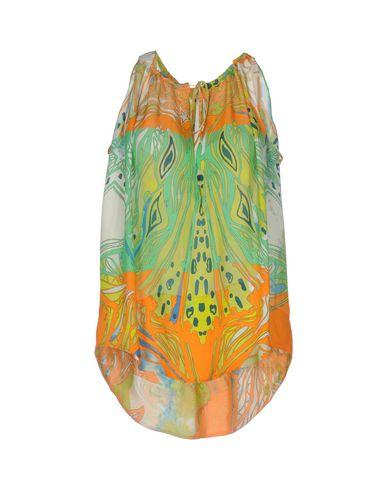 Emilio Pucci Silk Top In Green