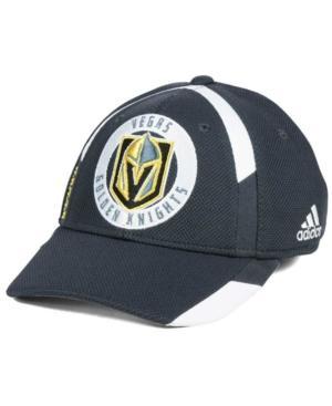 Adidas Originals Adidas Vegas Golden Knights Practice Jersey Hook Cap In Charcoal
