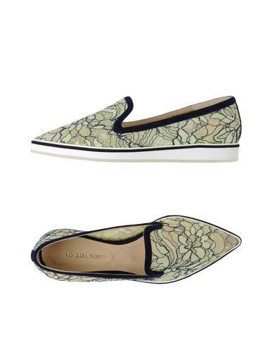 Nicholas Kirkwood Loafers In Light Green