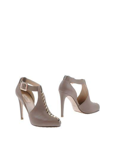 Valentino Booties In Grey