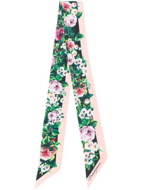 Dolce & Gabbana Floral Neck Tie