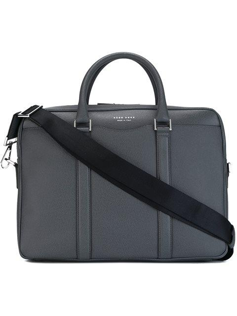 Boss Hugo Boss 'Signature S Doc' Briefcase - Grey