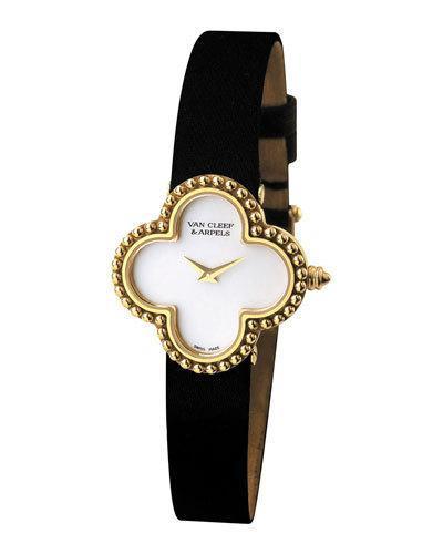 Van Cleef & Arpels Vintage Alhambra Yellow Gold Watch, Small