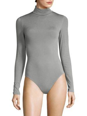 Wolford Colorado String Bodysuit In Midgrey