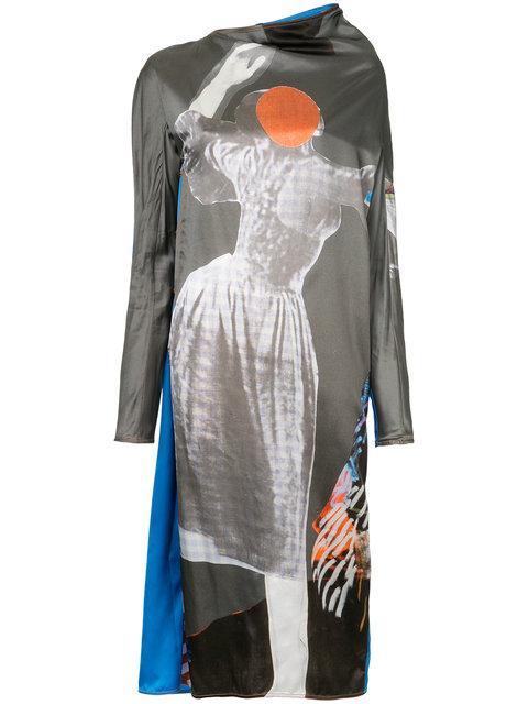 Marni Sally Smart Print Dress