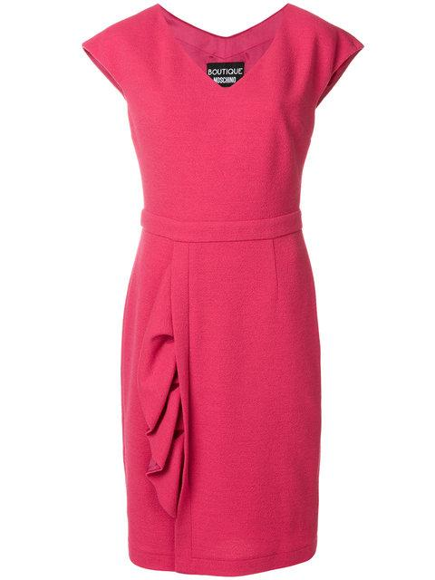 Boutique Moschino Ruched Detail Dress