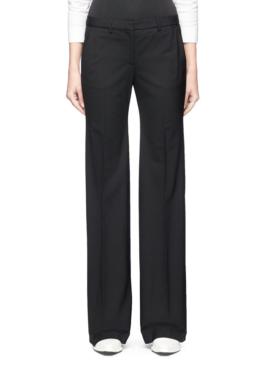 Theory 'Demitria 2' Flared Suiting Pants