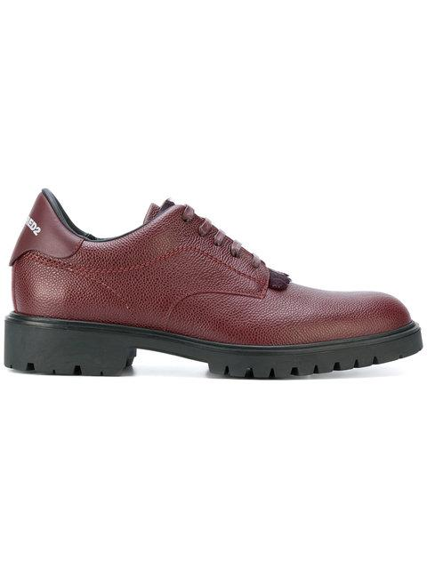 Dsquared2 Ridged Sole Derby Shoes
