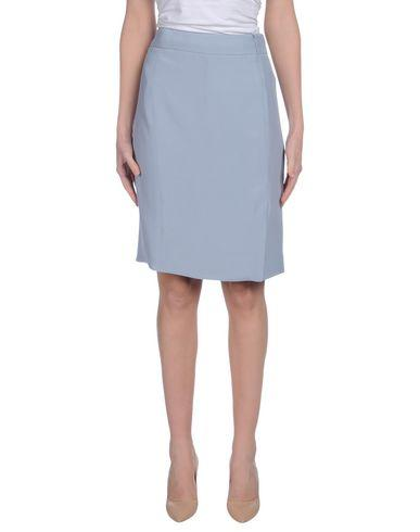 Armani Collezioni Knee Length Skirts In Sky Blue