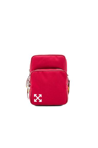 Off-White Arrows Crossbody In Red