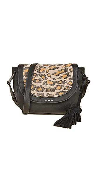 Splendid Key Largo Cross Body Bag In Leopard