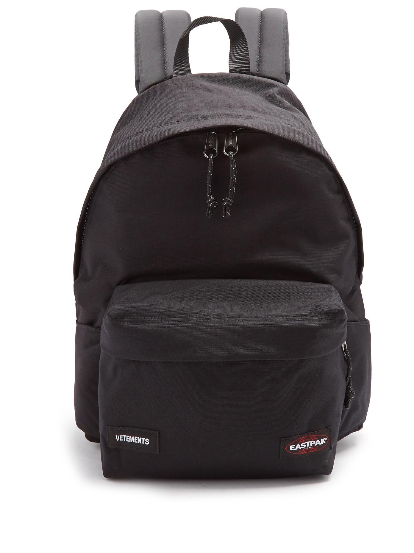 Vetements Black Eastpack Edition Tourist Convertible Backpack