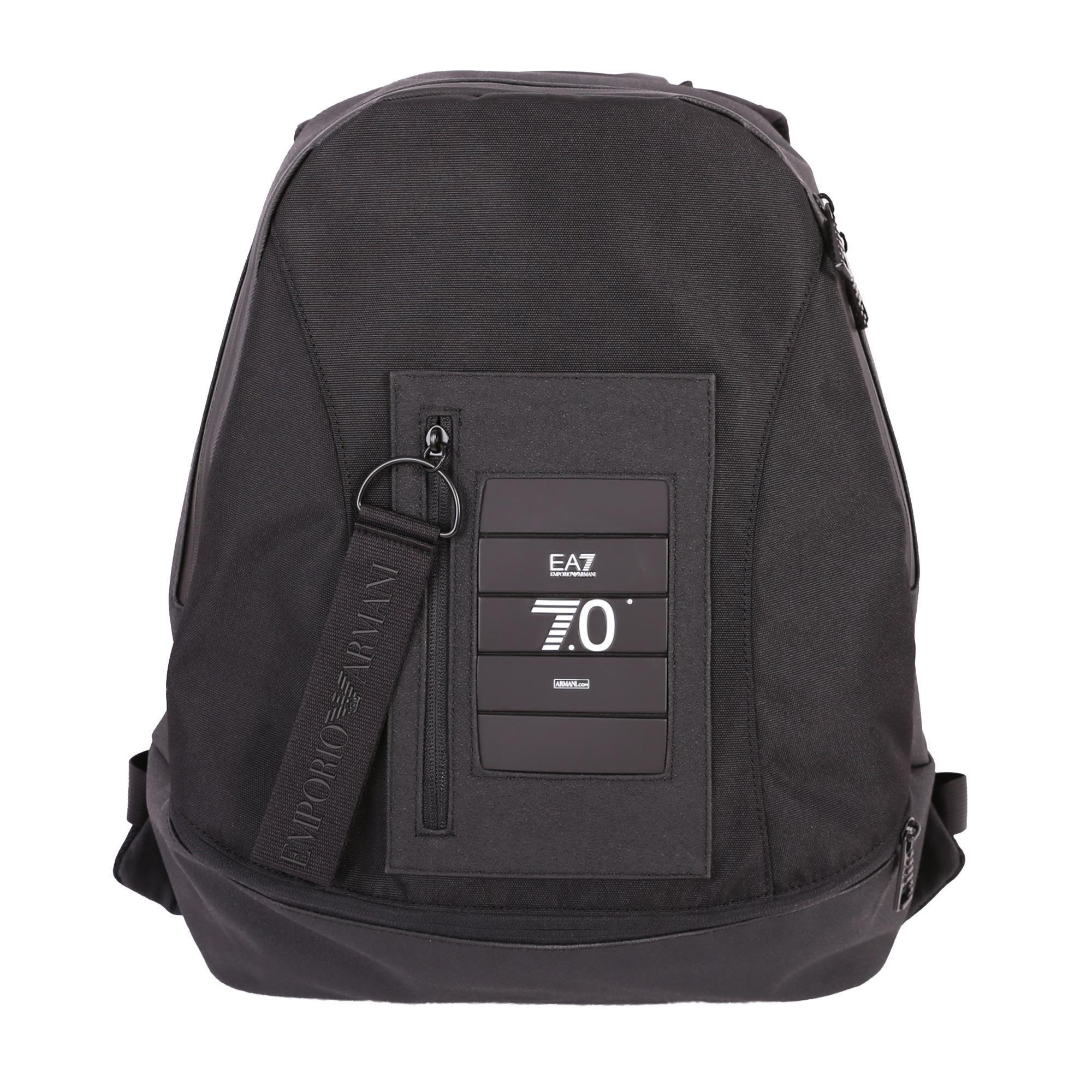 Ea7 Backpack In Black