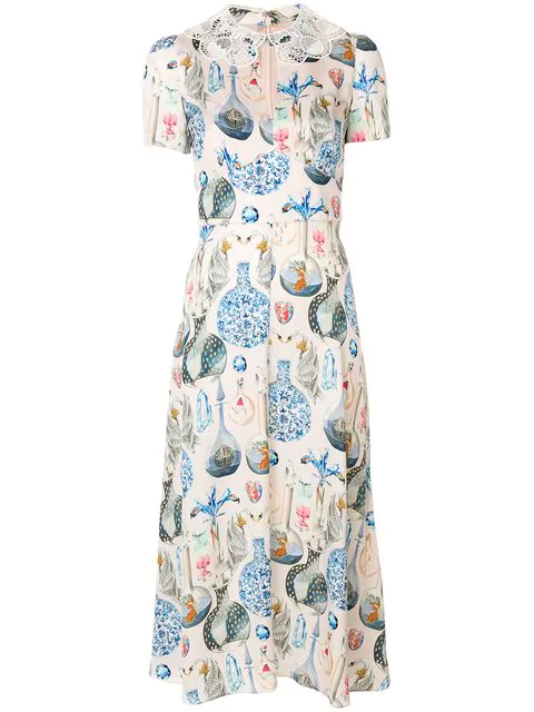 Temperley London Love Potion Dress In Pink
