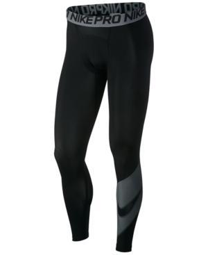 Nike Men's Pro Compression Leggings In Black