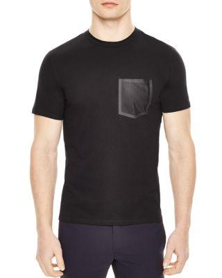 Sandro Summer Tee In Black