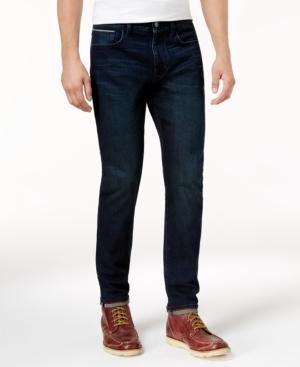 Tommy Hilfiger Men's Slim-Fit Wilson Jeans In Dark Wash