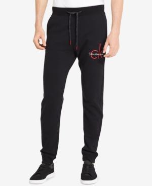 Calvin Klein Jeans Calvin Klein Men's Ck Logo Sweatpants In Black