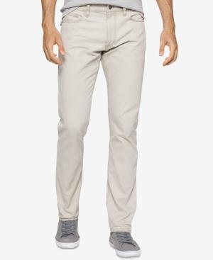 Calvin Klein Jeans Men's Slim-Fit Nailhead Pants In New Khaki