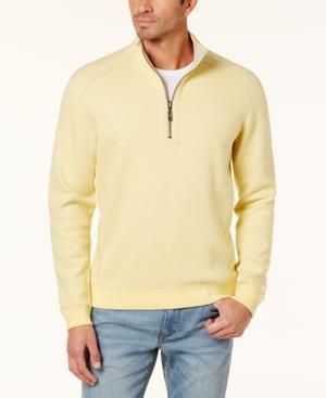 Tommy Bahama Men's Reversible Flip-Side Classic Sweatshirt In Gilt Heath