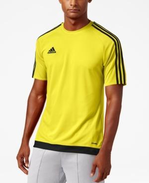 Adidas Originals Adidas Men's Short-Sleeve Soccer Jersey In Yellow