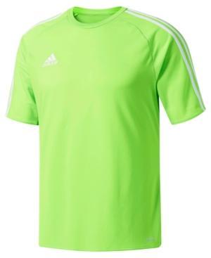 Adidas Originals Adidas Men's Short-Sleeve Soccer Jersey In Sgreen/Whi