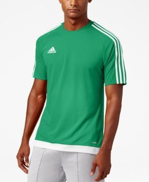 Adidas Originals Adidas Men's Short-Sleeve Soccer Jersey In Green